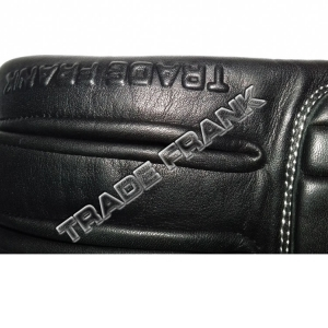 Embossed company name